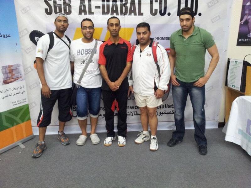 صورة لبعض لاعبي الفريق